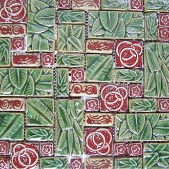 Gạch Mosaic Gốm PR - 1036 30x30