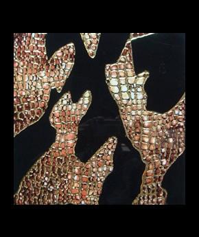 Gạch Trang Trí nhủ vàng, bạc 241-1G 30x30