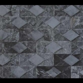Đá Trang Trí D23-24 Caro đen 7.5x20