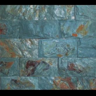 Đá Trang Trí D97-98 Slate xanh rỉ sét lồi 10x20