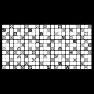 Gạch Trang Trí  (30X60)Black Decor 1017